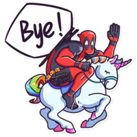 Deadpool stickers telegram 05