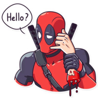 Deadpool stickers telegram 15