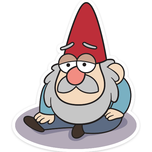 gnomy iz graviti folz stickers telegram 13