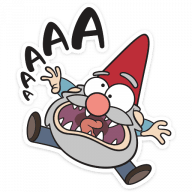 gnomy iz graviti folz stickers telegram 23