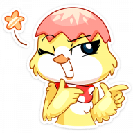 iriska stickers telegram 35