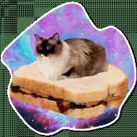 kosmicheskie koty stickers telegram 08