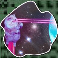 kosmicheskie koty stickers telegram 09