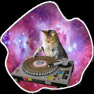 kosmicheskie koty stickers telegram 17