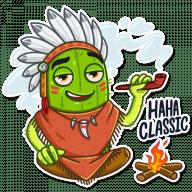 kovboj kaktus stickers telegram 02