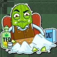 kovboj kaktus stickers telegram 05
