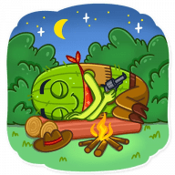 kovboj kaktus stickers telegram 06