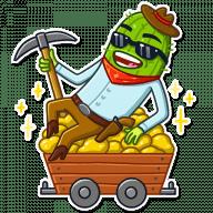 kovboj kaktus stickers telegram 08