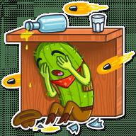 kovboj kaktus stickers telegram 12