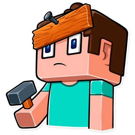 minecraft stickers telegram 04