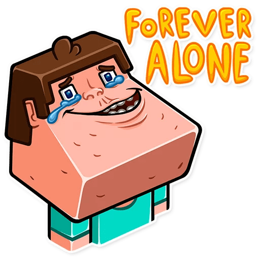 minecraft stickers telegram 05