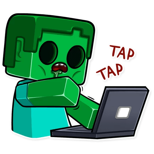 minecraft stickers telegram 06