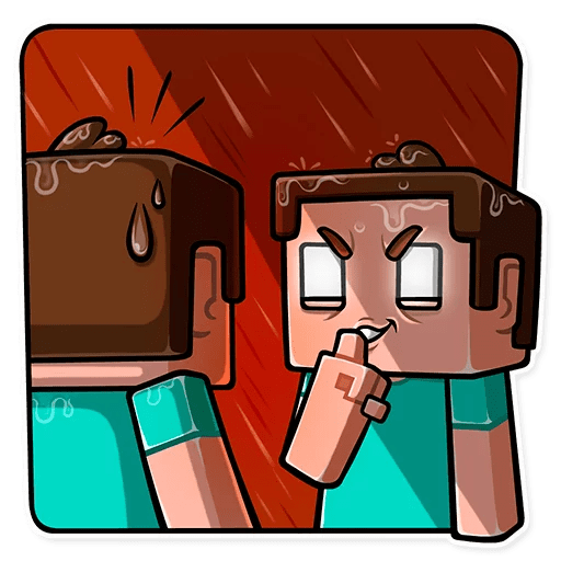 minecraft stickers telegram 09