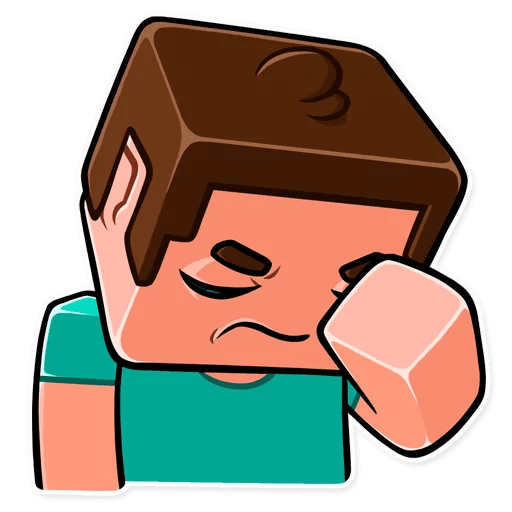 minecraft stickers telegram 11