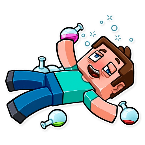 minecraft stickers telegram 13