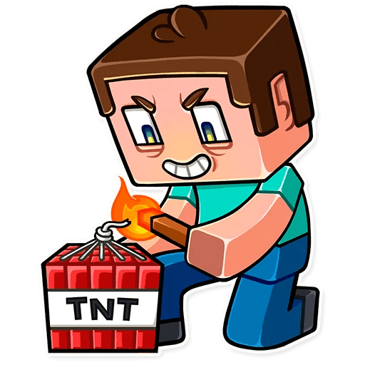 minecraft stickers telegram 22