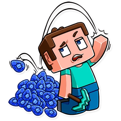 minecraft stickers telegram 26