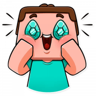 minecraft stickers telegram 32
