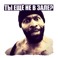 pljushevaja boroda ct fletcher stickers telegram 10