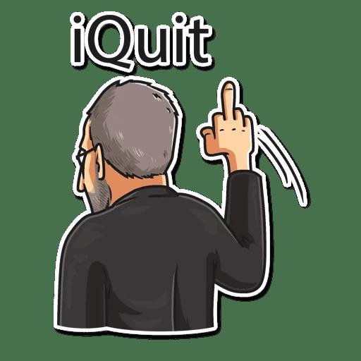 steve jobs stickers telegram 06