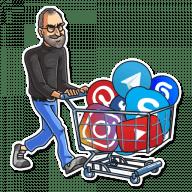 steve jobs stickers telegram 24