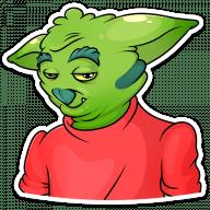 trolljan stickers telegram 08