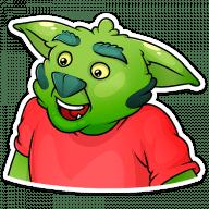 trolljan stickers telegram 14