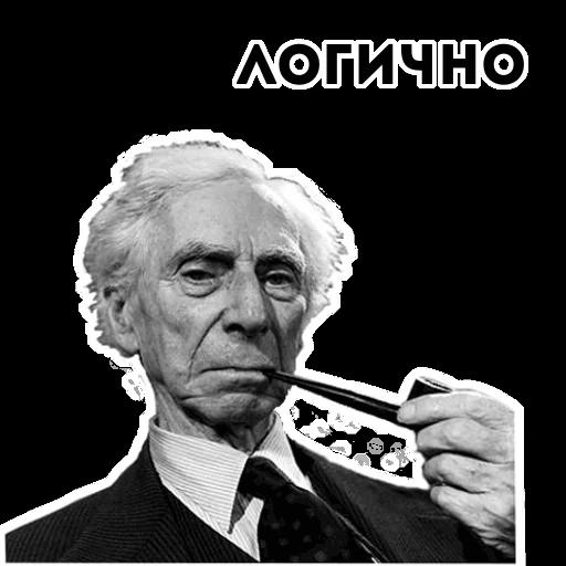 Стикеры Философия