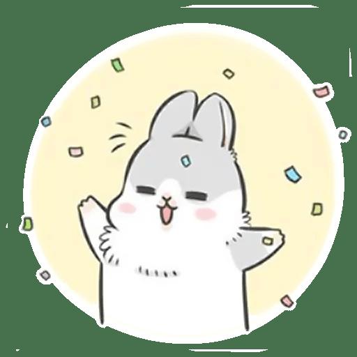 Стикеры Кролик Мачико