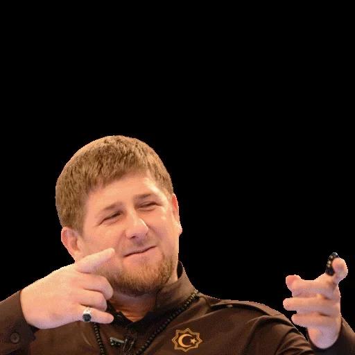 Стикеры Рамзан Кадыров