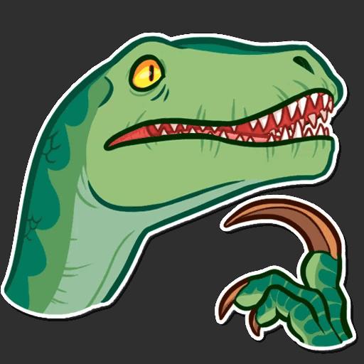 Стикеры Динозавры