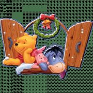 stikery novogodnij vinni puh i ego druzja telegram 10