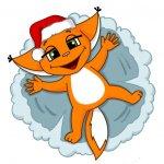 stikery novogodnjaja kroshka shi telegram 04